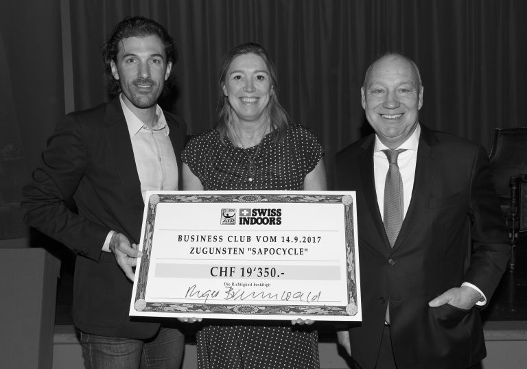 Thanks to the Swiss Indoors Business Club!