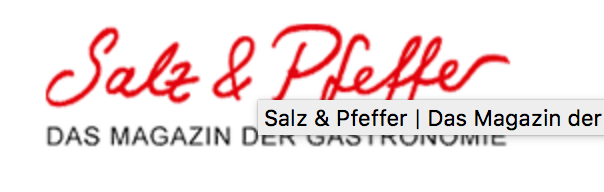 News – 19.11. 2019  Salz & Pfeffer on-line