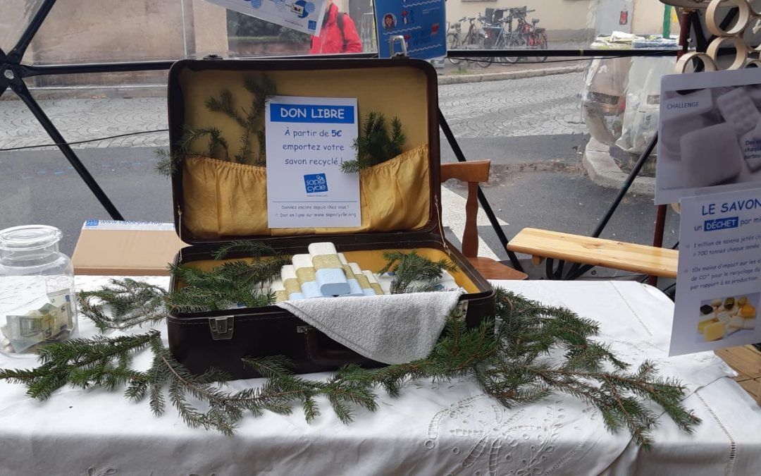 SapoCycle participated with a stand at the Marché OFF Strasbourg