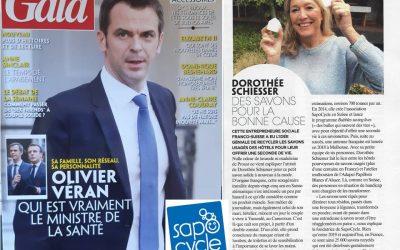 «Des savons pour la bonne cause», SapoCycle dans Gala France