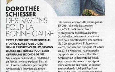 """""""Des savons pour la bonne cause"""", SapoCycle in Gala France"""