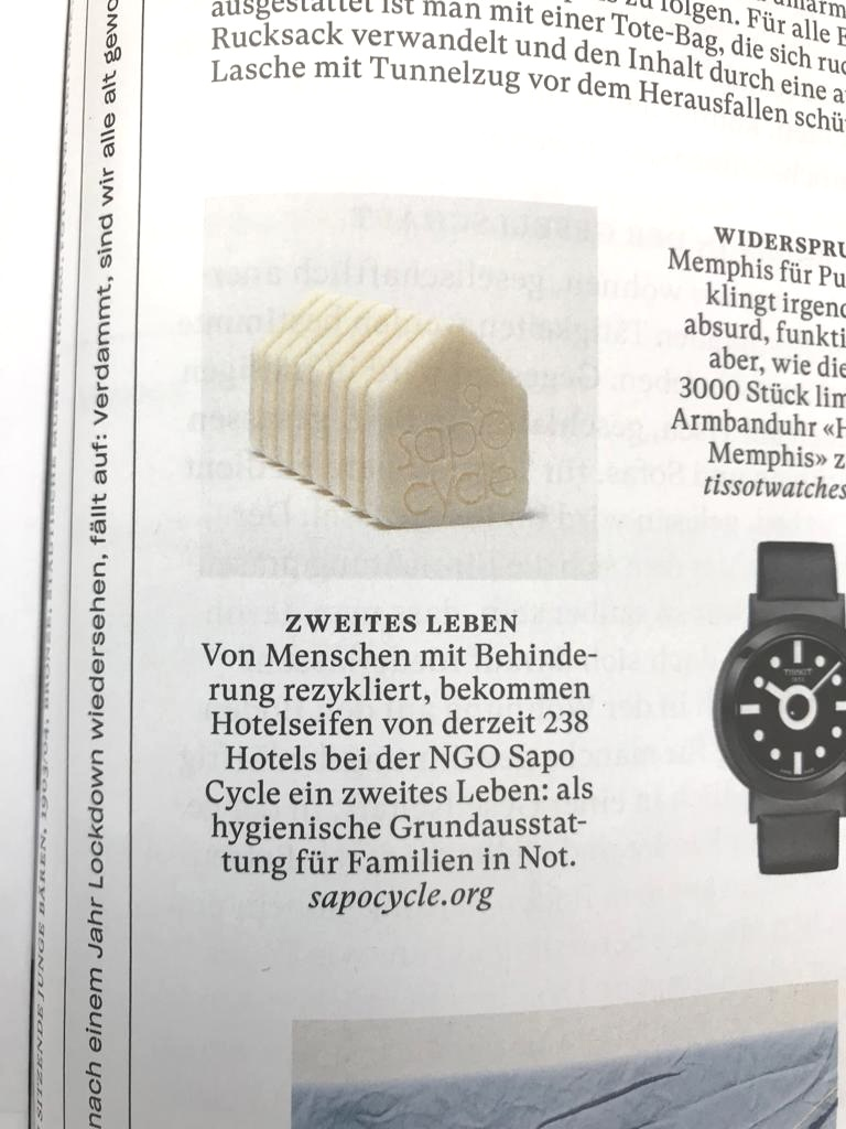 Recycled Soap on NZZ