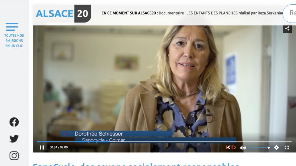 Dorothée Schiesser a recyclé des savons d'hôtel