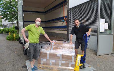 Nos savons recyclés aux mains des réfugiés dans les îles grecques