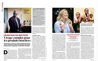 SapoCycle dans le magazine suisse Bilan: Nouvelles tendances pour les articles de toilette d'hôtel
